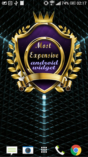 Most Expensive Android Widget