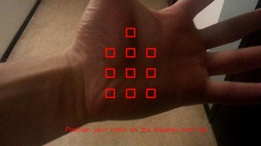 HandSkinTracking