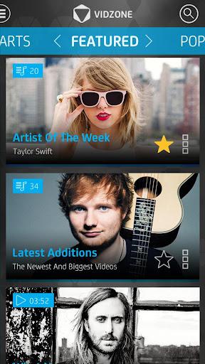 VIDZONE - Free HD Music Videos
