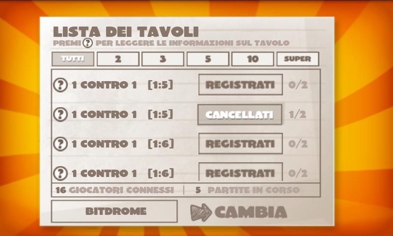 Nomi Cose Città 2 ONLINE Lite - screenshot