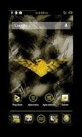 Screenshot of Liberty Yellow Apex Theme