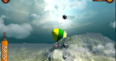 Screenshot of Hot Air Balloon - Flight Game