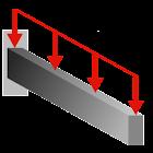 Cantilever Beam Dist Load icon