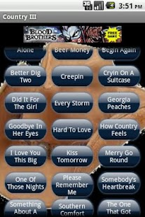 Country Music Ringtones III - screenshot thumbnail
