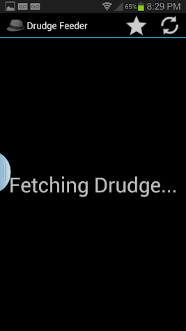 Drudge Feeder Screenshot