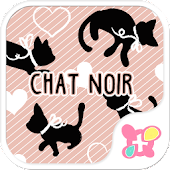 icon & wallpaper-Chat Noir