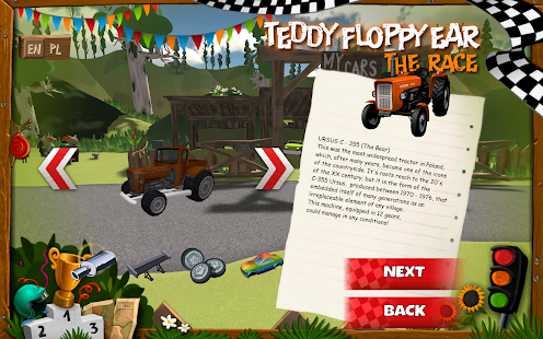 Teddy Floppy Ear: The Race- screenshot thumbnail