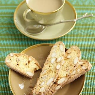 Almond-Ginger Biscotti.