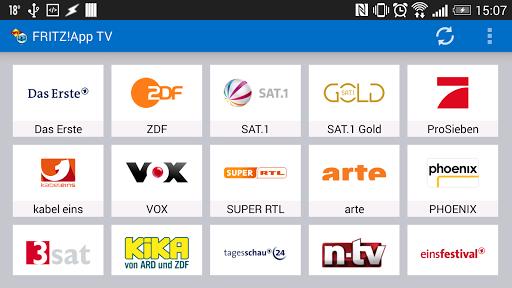 FRITZ App TV