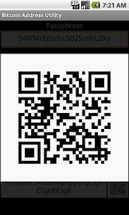 Bitcoin Address Tool - screenshot thumbnail