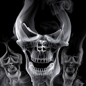 Smoke Skull Head icon