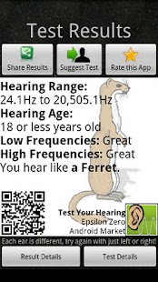Test Your Hearing- screenshot thumbnail