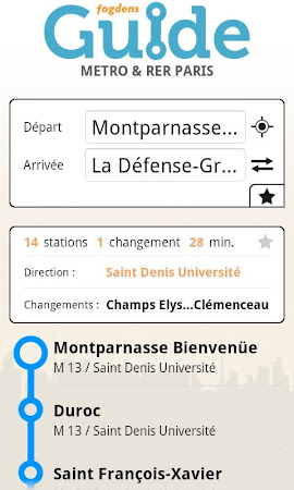 Paris metro subway guide 2.2.9 screenshot 387298