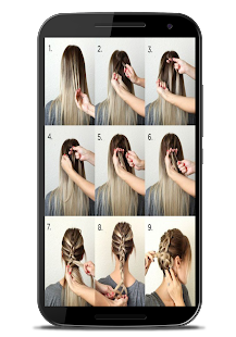 Easy Hairstyles Step By Step easy hairstyles step by step Easy Hairstyles Step By Step Screenshot Thumbnail