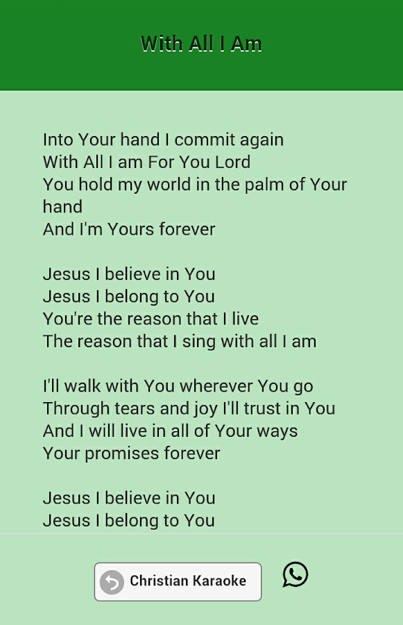Christian Karaoke Songs - Android Apps on Google Play
