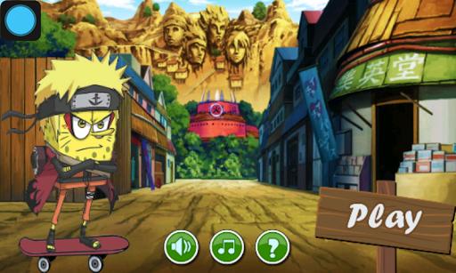 Sponge Naruto adventure