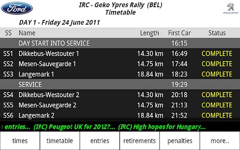 iRally: Rally WRC no FI NASCAR - screenshot thumbnail