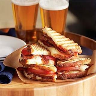 Cheddar, Bacon & Tomato Panini.