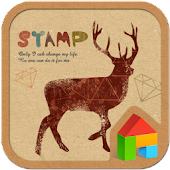 stamp Dodol launcher theme