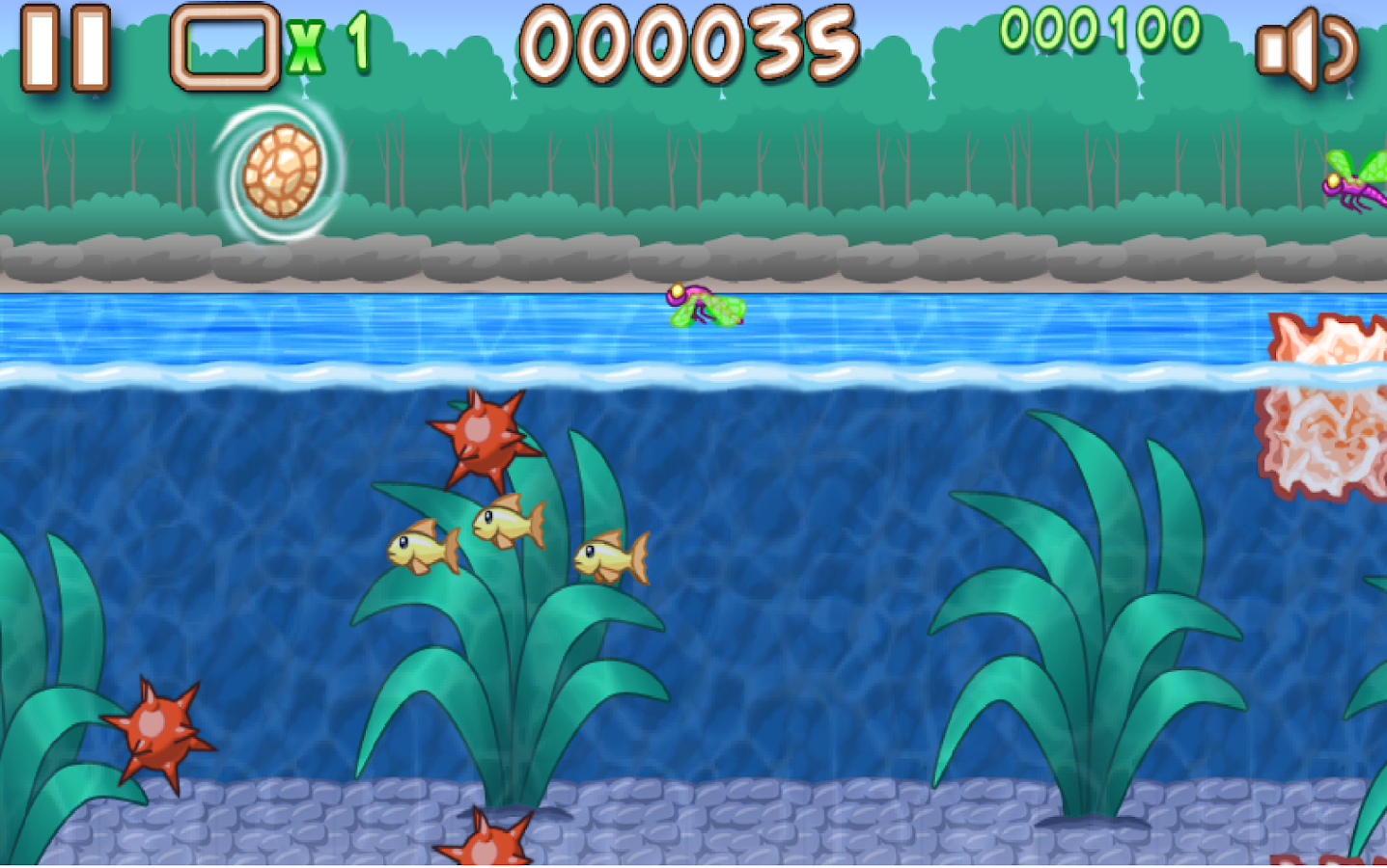 Snappy turtle android apps on google play for Turtle fish games