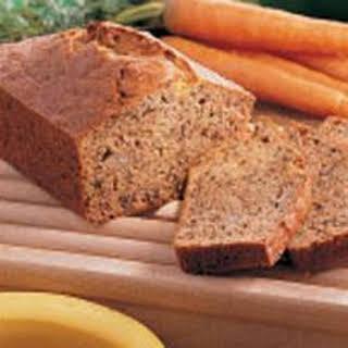 Carrot Banana Bread.