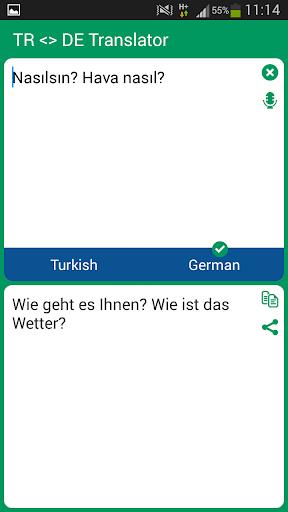 Turkish German Translator