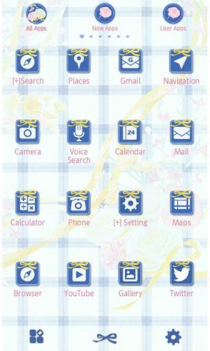 Flower Theme-Blue Gingham- 1.0.3 Windows u7528 2
