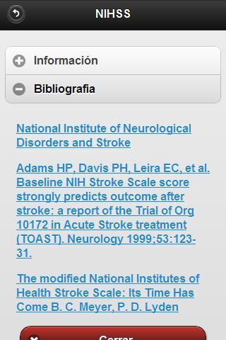 NeuroScores- screenshot