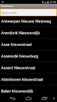 Screenshot of Halte Alarm (De Lijn)