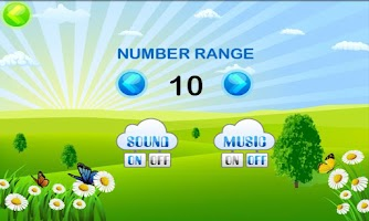 Screenshot of Math Training for Kids