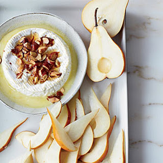 Baked Camembert with Pears