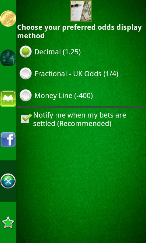 Pocket Sportsbook - Bookie App - screenshot