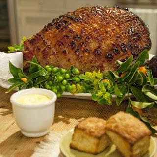 Mustard-Maple Glazed Ham.