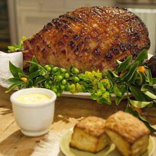 Mustard-Maple Glazed Ham.