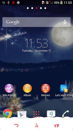 Xperia™テーマ - Christmas