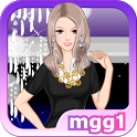 Black Fashion Dress Up icon