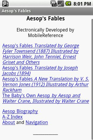 Aesop's Fables- screenshot