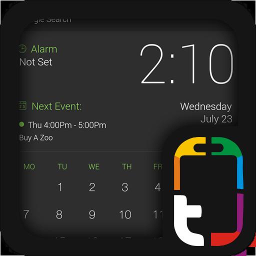 グリーンとグレープロのUIテーマ 個人化 App LOGO-硬是要APP