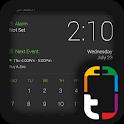 Verde e Cinza Pro UI Tema icon