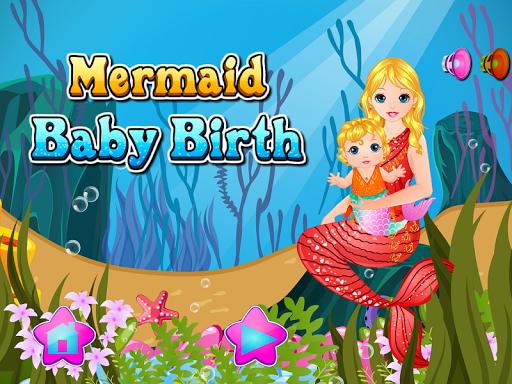 人鱼宝宝出生游戏