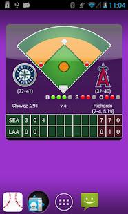MLB 分數盒+Widget