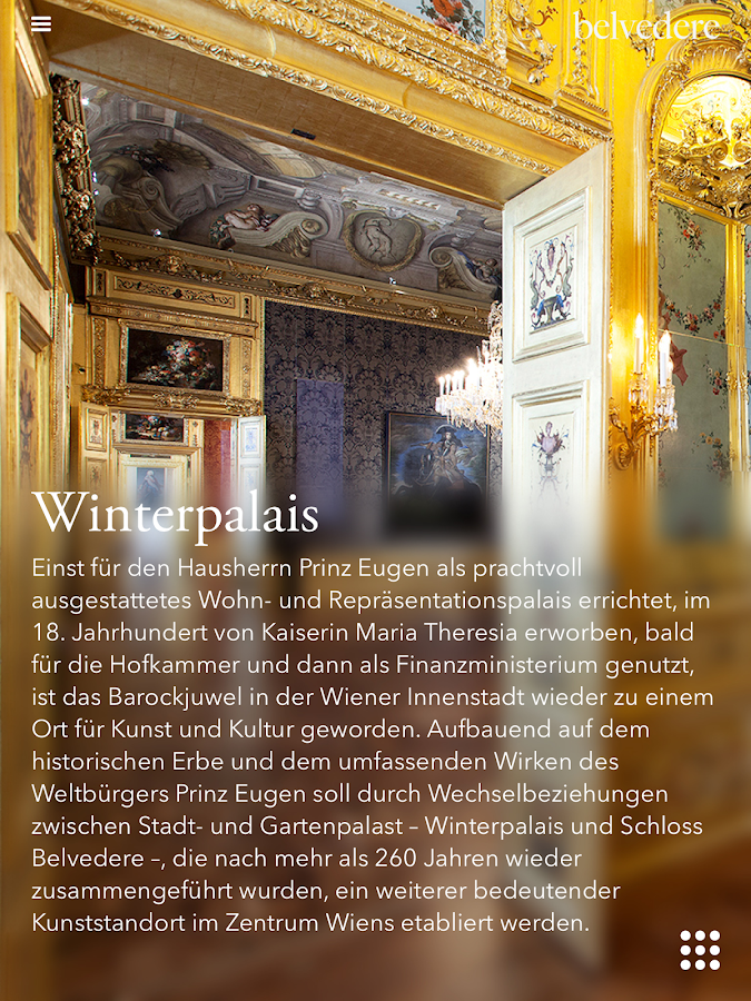 Belvedere Vienna- screenshot