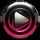 Poweramp skin Raspberry Glow v2.03