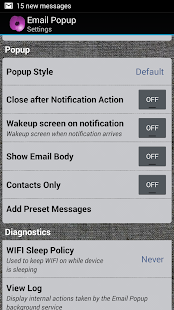 Email Popup: Poppy IMAP  POP3- screenshot thumbnail