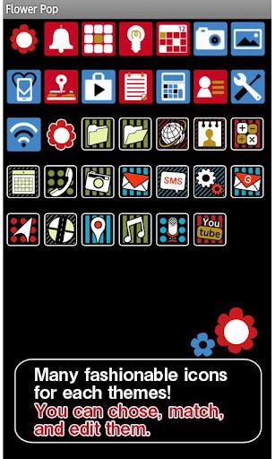 Flower Pop Wallpaper Theme 1.4 Windows u7528 4
