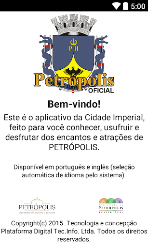 Aplicativo Petrópolis