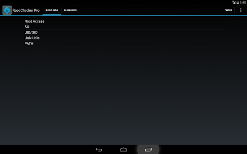 Root Checker Pro (Cracked) 5