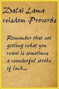 玩社交App|Dalai Lama wisdom Proverbs免費|APP試玩