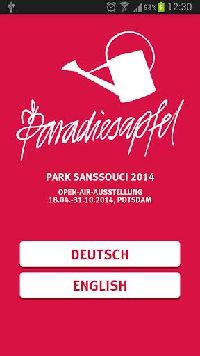Paradiesapfel – Park Sanssouci