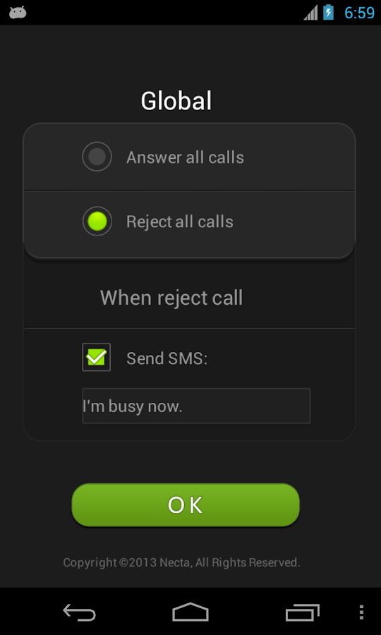 Air Call-Accept - screenshot